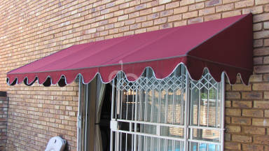 Canvas Wedge Awning 11