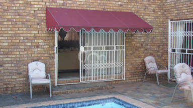 Canvas Wedge Awning 12