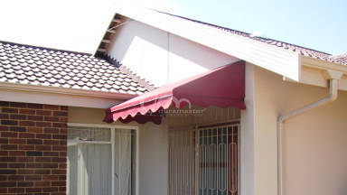 Canvas Wedge Awning 17