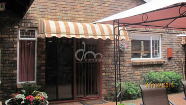 Canvas Semi-bow Awning 21