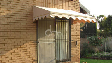 Canvas Wedge Awning 3