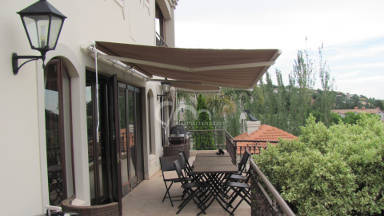 Canvas Fold-arm Awning 30