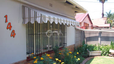 Canvas Wedge Awning 6