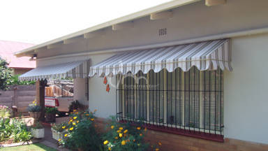 Canvas Wedge Awning 7