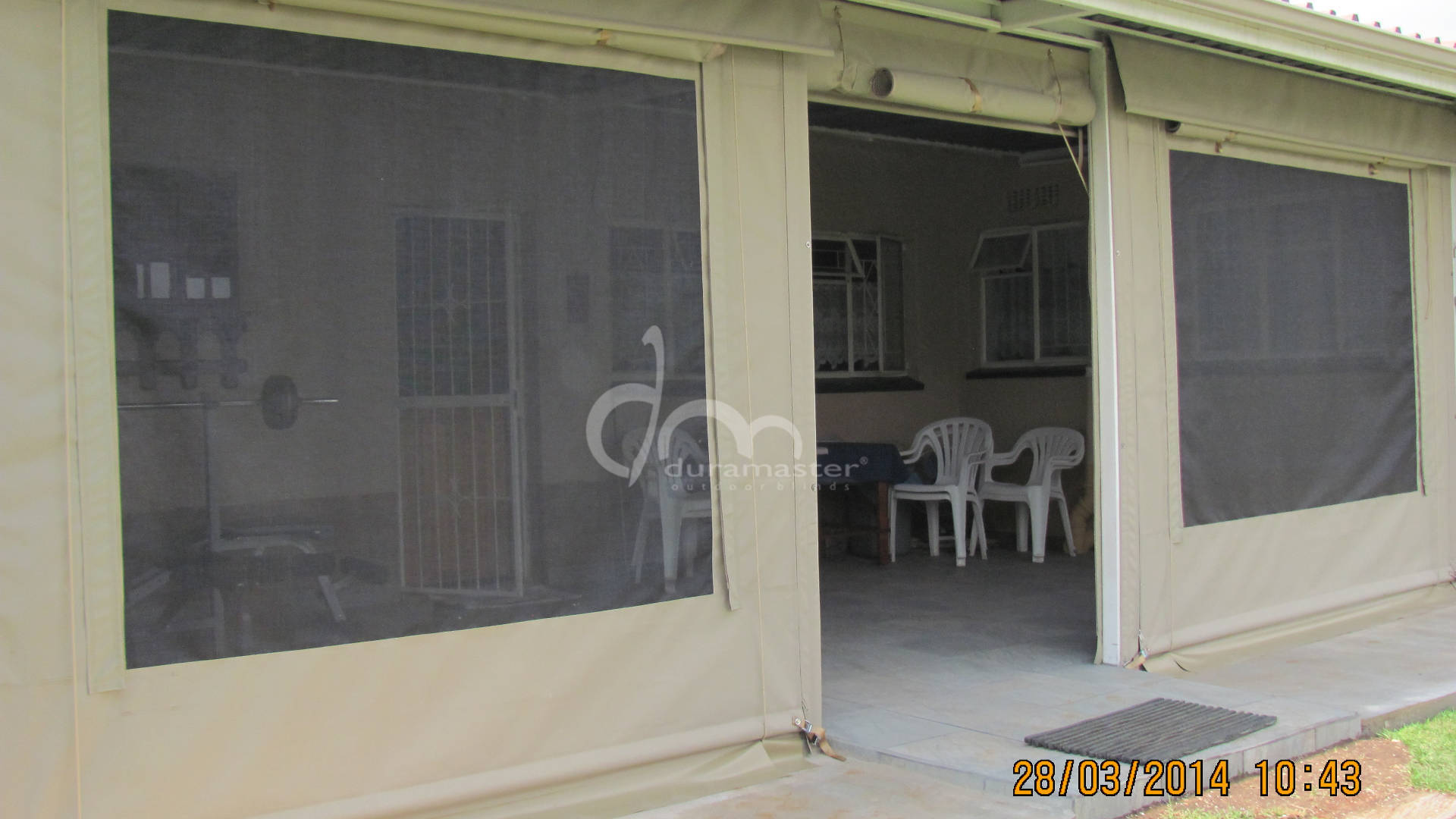 Duramaster outdoor duramaster photo gallery for Exterior window shutters south africa
