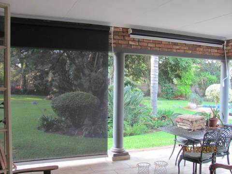 Outdoor Solar Roller Blind